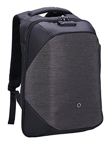 Laptop Rucksack, 15,6 Zoll Laptopfach, Diebstahlschutz, Clickpack Business Bag, Wanderrucksack, Arbeitstasche Wochenende, Schul...