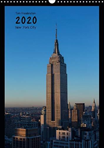 Vertical New York (Wandkalender 2020 DIN A3 hoch): Ansichten New Yorker Wolkenkratzer (Monatskalender, 14 Seiten ) (CALVENDO Orte)
