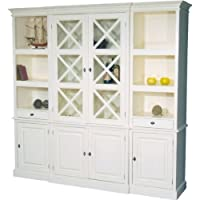 Comparador de precios Casa-Padrino Large Shabby Chic country house style cabinet with 4 doors and 2 drawers - buffet cabinet - wardrobe dining room - precios baratos