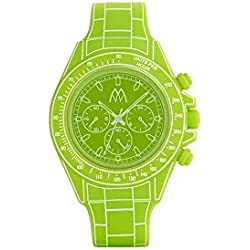 Marco mavilla digitona Armbanduhr in Neon Lime