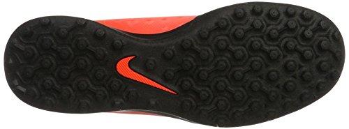 Nike Herren Magistax Ola Ii Tf Fußballschuhe Rot (TOTAL Crimson/Black-Bright Mango)