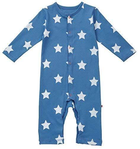 PICCALILLY Body Combishort étoiles - Bébé garçon, Bleu, 62-68