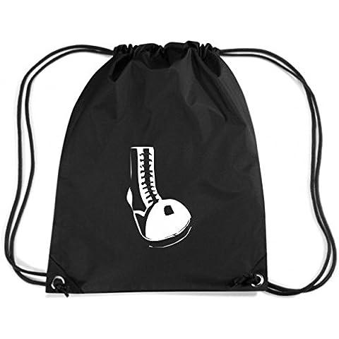 T-Shirtshock - Zaino Zainetto Budget Gymsac TUM0128 ultras