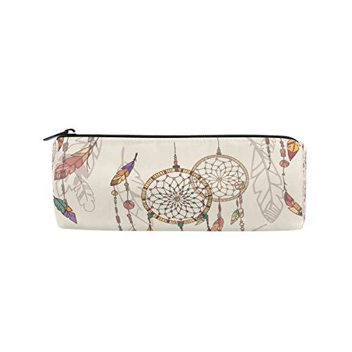 Ahomy Estuches de lápices atrapasueños con cremallera bolsa para adolescentes niñas y niños, bolsa de viaje de maquillaje para mujeres