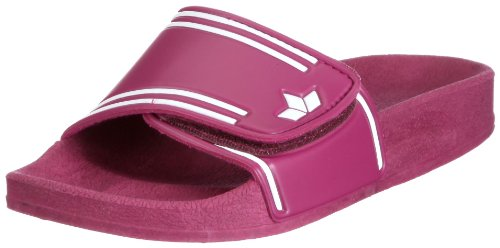 Lico Coast V, Chaussures de Plage & Piscine fille Rose (Pink/Weiss)