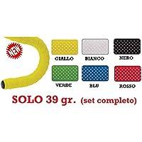 CORK FORELLO Nastro manubrio bici bicicletta Corsa Fixed - SOLO 39 gr. (NERO)