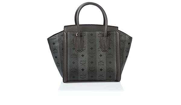 MCM Damen Handtasche Strasse Visetos Tote Small Grau: Amazon