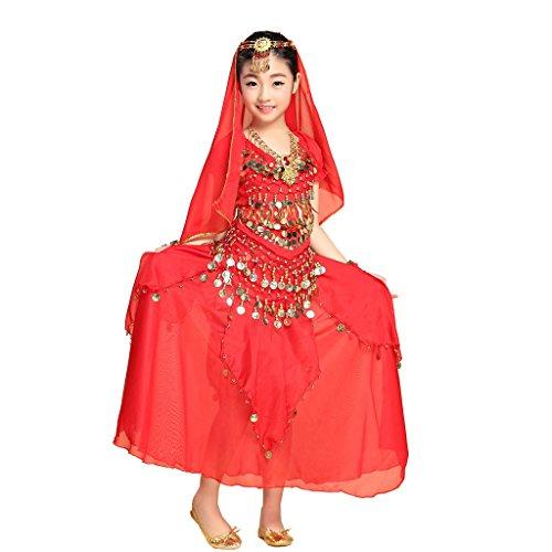 genmantel Gr. Medium, rot (Egyptian Fancy Dress Frauen)