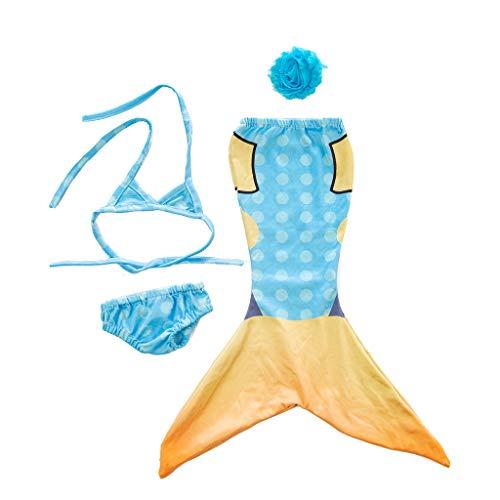 12shage Sommer Kleidung Kleider Badeanzug Bikini Puppen für 46-50cm Puppen Stehpuppe 18 Zoll Inch American Girl Dolls Puppenbekleidung (A)