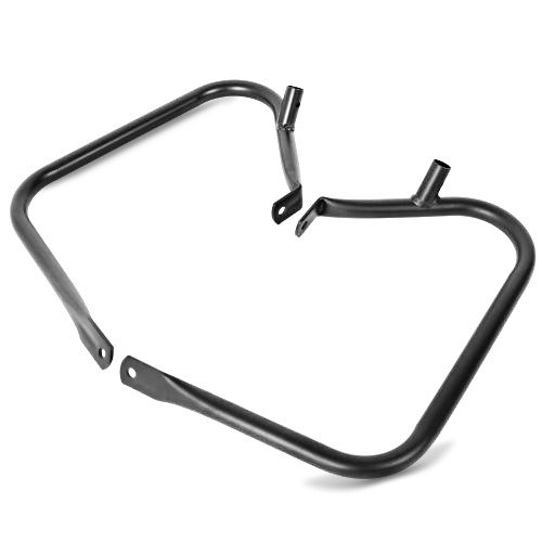 Protection de Sacoche CR pour Harley Davidson Road Glide 98-08 Noir