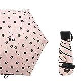 JUNDY Regenschirm Taschenschirm Automatik Reise für Damen und Herren windsicher Wasserdicht Schirm 50% Sonnencreme Mini Regenschirm colour6 95cm