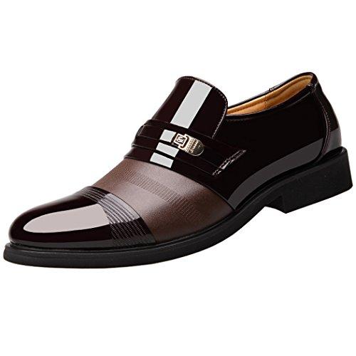Speedeve uomo eleganti scarpe in pelle per business ricreazione uniforme