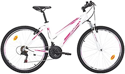Bikesport KAROLINA Bicicleta rueda 26 pulgadas para mujer Shimano 21 velocidades