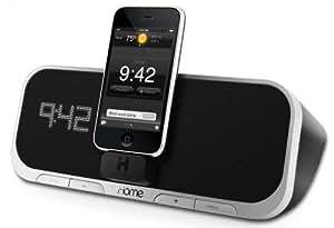 iHome iA5 Radio Réveil avec station d'accueil pour iPod/iPhone avec Application