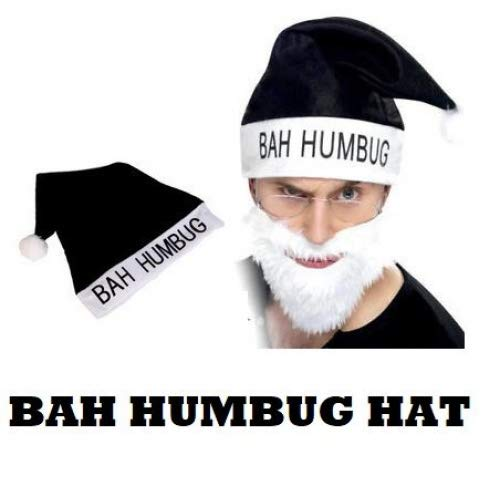 - Bah Humbug Hat