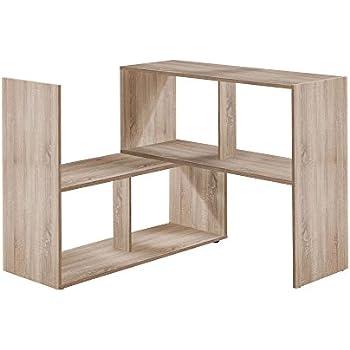 FMD Möbel 264-100 STRETCH 100 Regal, Holz, eiche, 94.7 x