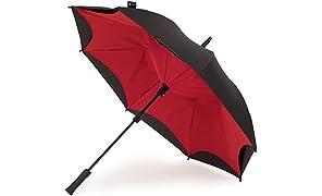 KAZbrella - Clásico Rojo Negro/Rojo