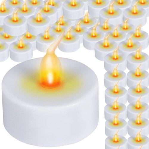 Jago - TLCHT01 - Velas eléctricas LED - Set 96 Unidades - Diferentes Sets a Elegir