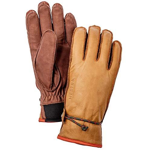 HESTRA Wakayama 5-Finger Handschuhe Cork/Brown Handschuhgröße 10 2019 Outdoor Handschuhe