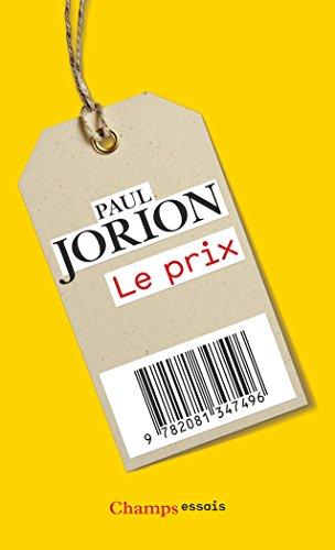 Le prix / Paul Jorion.-