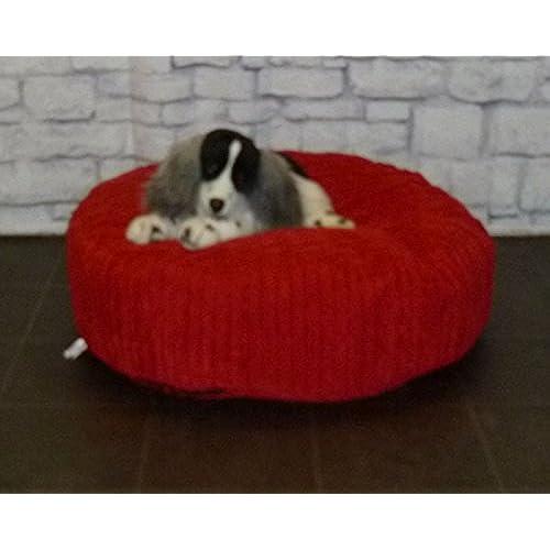 Zippy Round Bean Bag Pet Dog Bed