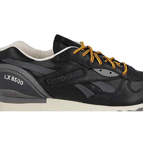 Reebok Classic LX 8500 Premium Schuhe Herren Sneaker Turnschuhe Schwarz M49343 Schwarz
