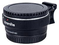 Commlite Adaptateur pour monture d'objectif mise au point automatique EF-NEX EF-EMOUNT FX pour monter un objectif Canon EF EF-S sur un appareil photo monture Sony E NEX 3/3N/5N/5R/7/A7 A7R plein format, noirSpecifications :Objectif compatible : pour ...