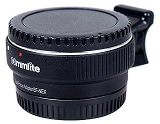 Commlite Auto CM-EF-NEX Adaptador de montaje de objetivo con montura de Canon EF objetivo a Sony NEX 3/3N/5N/5R/7/A7 A7R marco completo, Color negro (B00DW0EV2I) | Amazon price tracker / tracking, Amazon price history charts, Amazon price watches, Amazon price drop alerts