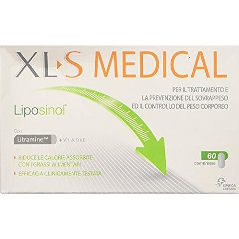 XL-S Medical Liposinol Prodotto per il Trattamento del Sovrappeso, 60 Compresse