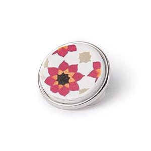 Noosa Chunk 116 Souk Tile pink/white-ceramic