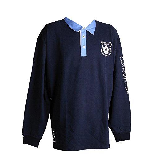 Kitaro, langarm Polohemd Poloshirt, 111215, navy crystal [10923] Navy