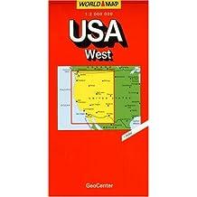 Carte routière : USA Ouest