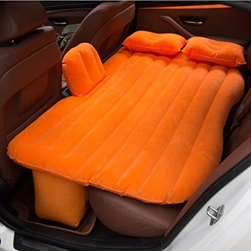 Zjcqc Auto-Auto-Bett, Reise im Freien PVC, das Matratze-Auto-Rücksitz-aufblasbares Bett mit Luftpumpe schart (Farbe : 4)