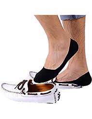 Vovotrade 10 Paires Hommes Chaussures Bouche Superficielle Bouteille Invisible Chaussures à Glissière en Coton Nécessité d'été