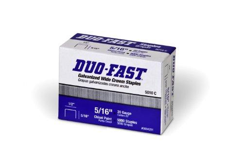 Duo Schnell 5010C–5/40,6cm X 20g verzinktem Staple (5000 Duo-fast Serie)