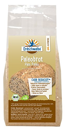 Erdschwalbe vegane Bio Paleo Brotbackmischung, glutenfrei, 1er Pack (300g)
