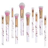 Pinceaux de Maquillage,Bekoard Cosmétique Sourcils Pinceau Maquillage Brosse Kits Outils (Coloré 5)
