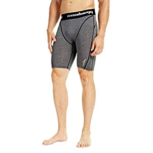 COOLOMG Herren Kompressionsshorts Funktionswäsche Base Layer Hose kurz Fitness & Training Jogging MEHRWEG