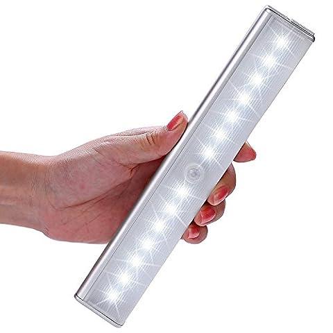 Lampe Placard, Kingland 14 LED Lampe Réchargeable Detacteur de mouvement,