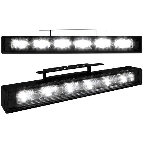 Preisvergleich Produktbild Dectane LGX12B Tagfahrlicht mit 6 hipower LED 200x29x28_black