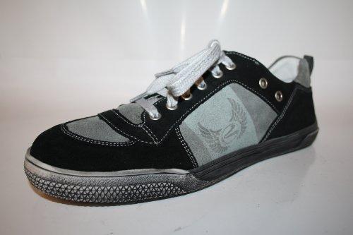 Richter Kinderschuhe , Chaussures de ville à lacets pour garçon Multicolore Multicolore Multicolore - Schwarz (black/rock 9901)