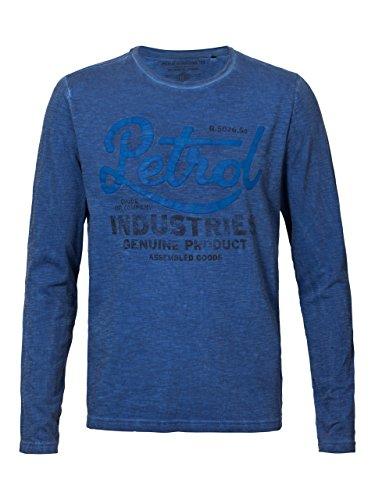 Petrol Industries Herren T-Shirt Blau (Imperialblau)