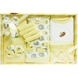 MINI BERRY Baby's Cotton Gift Set (Yellow) -13 Pieces