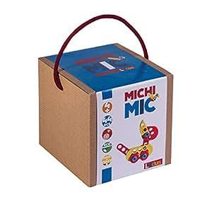 Cube LUDUS - Jeux de contruction et d'éveille - Michi Mic - 44 pièces - A partir de 4 ans