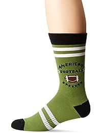 K. Bell Socks Men's American Football Crew