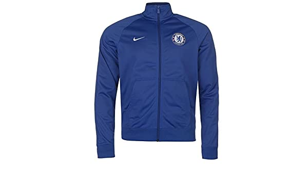 Nike 2017-2018 Chelsea Core Pre-Match Jacket (Blue)  Amazon.co.uk  Sports    Outdoors 4fb4ff225