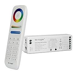 LIGHTEU®, 8 Zonen Fernbedienung und 5 in 1 Smart LED Streifen Controller