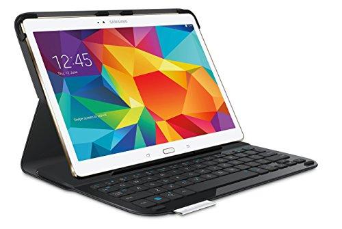 Logitech Logitech Keyboard Folio Type S Tablet-Hülle mit Tastatur für Samsung Galaxy Tab S 10.5 (QWERTZ, deut