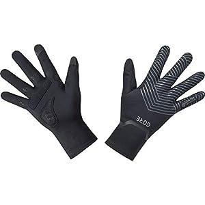 GORE WEAR C3 Stretch Gloves GORE-TEX INFINIUM, 7, black