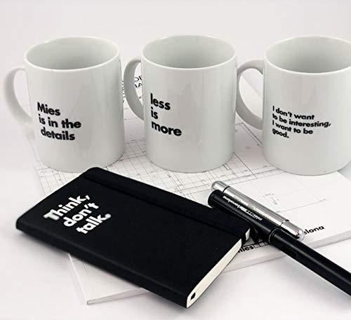 Mies Tassen 3er Pack - Offizielles Van der Rohe Pavillon Produkt
